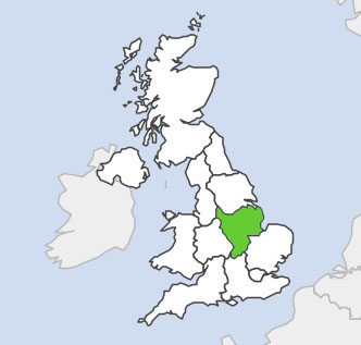 UK Regions Eastmidlands